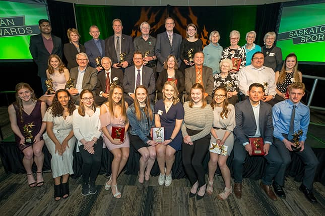 Sask Sport announces Athlete of the Year recipients