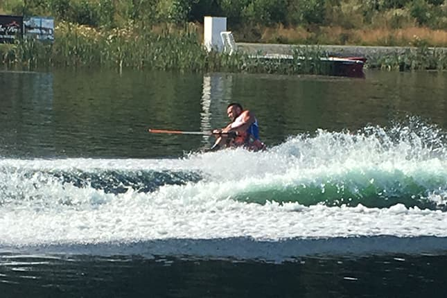 World record-setting water skier to be named September Athlete of the Month
