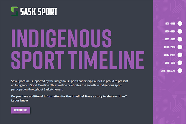 New timeline celebrates evolution of Indigenous participation in sport, culture and recreation