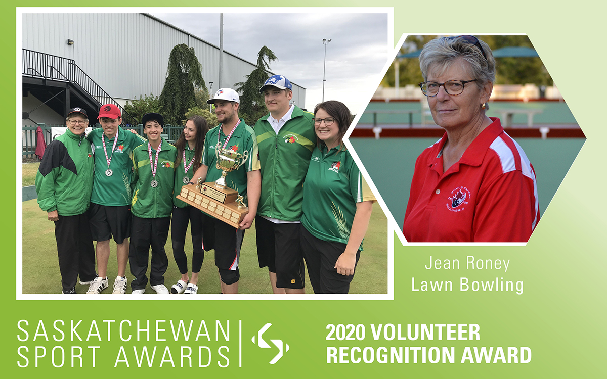 Accomplished lawn bowling official and coach, Jean Roney, honoured with Volunteer Recognition Award