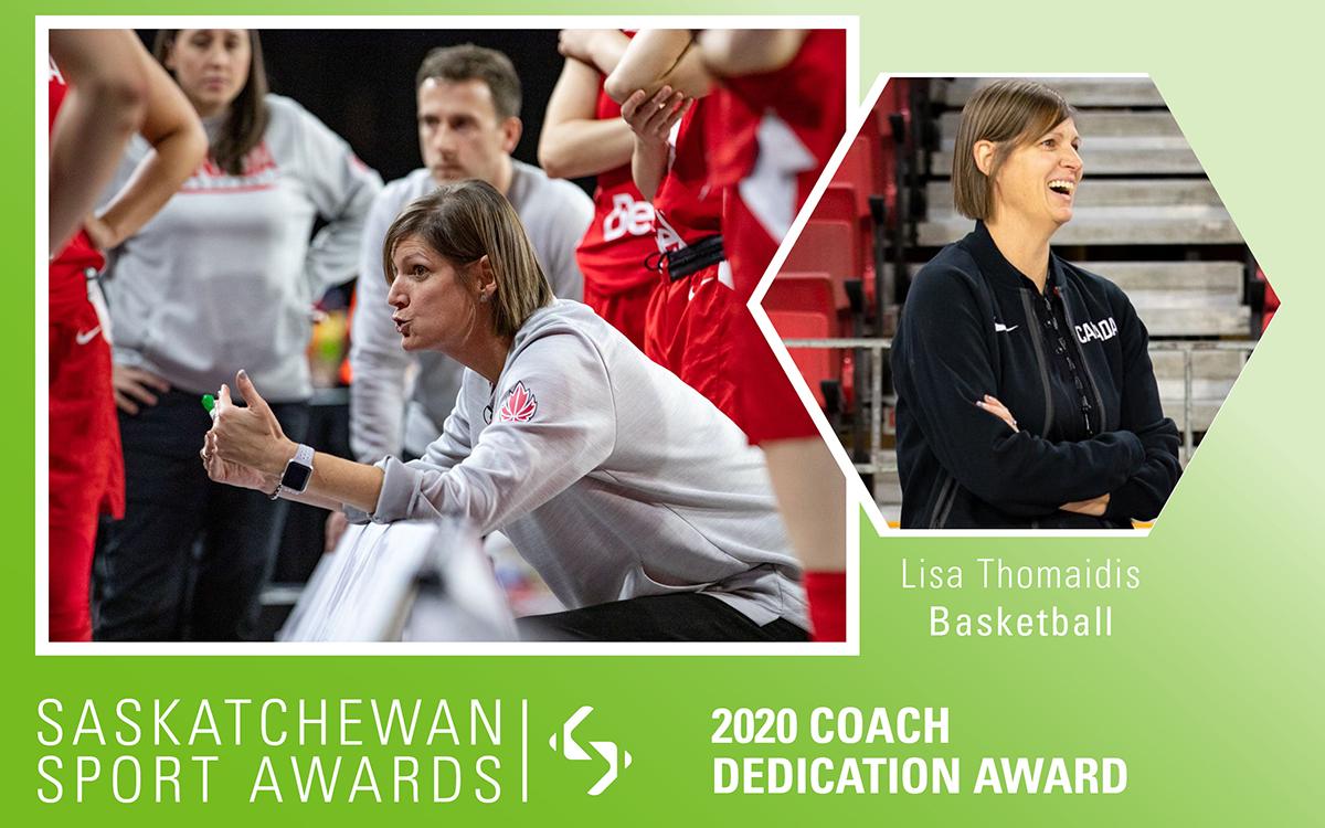 Basketball's Lisa Thomaidis honoured with Coach Dedication Award