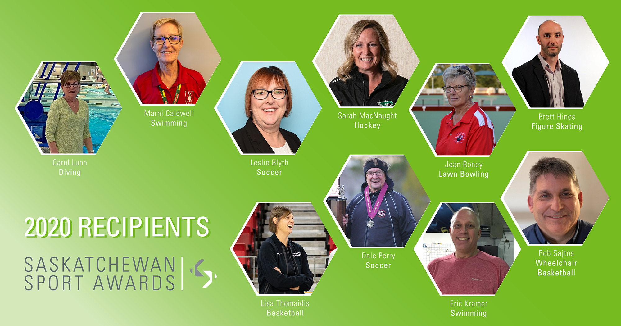 Six volunteers, four coaches honoured with Saskatchewan Sport Awards