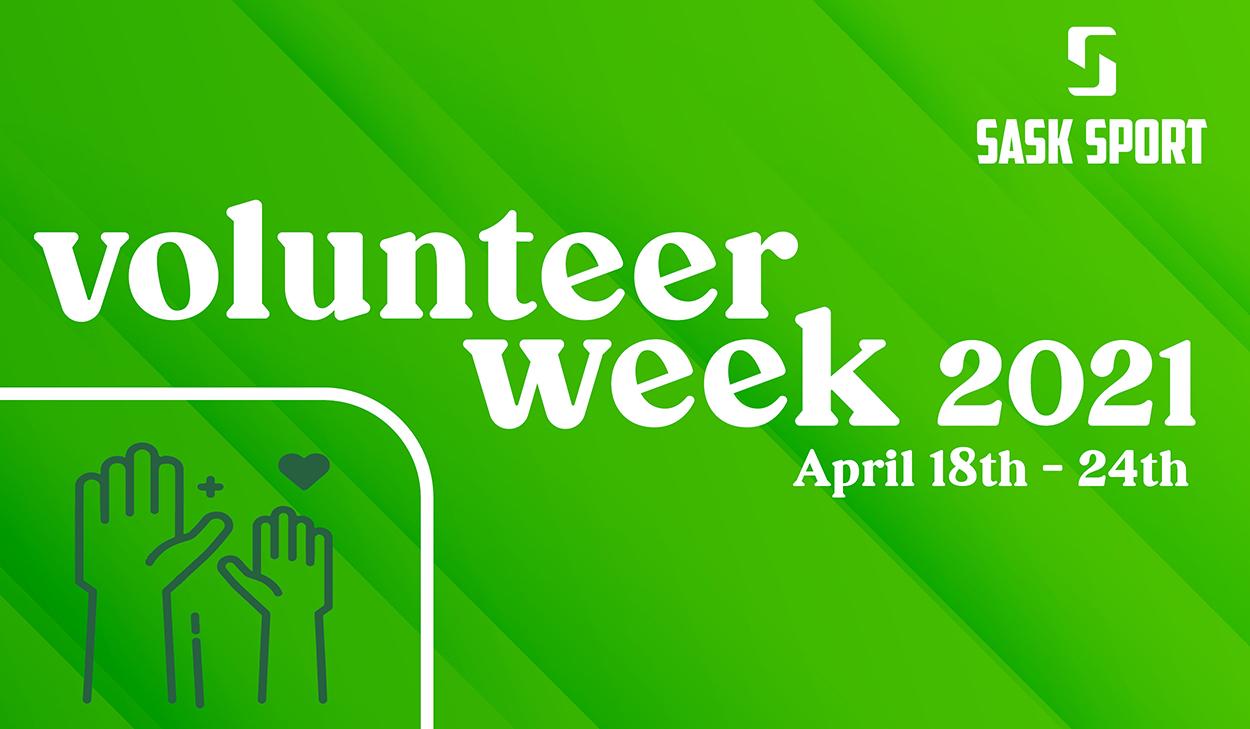 National Volunteer Week April 18-24