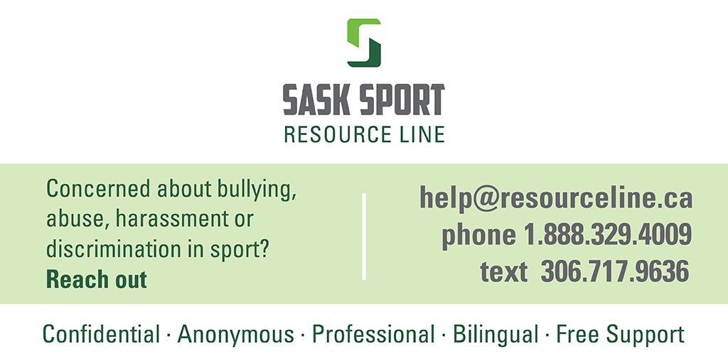 Sask Sport Resource Line