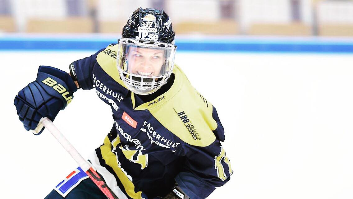 From Prince Albert to Sweden: Danny Stone's journey to professional hockey